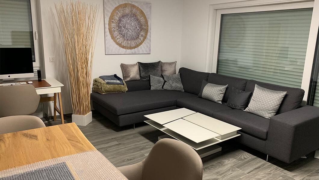 Lunz Immobilien Wohnzimmer Innenansicht